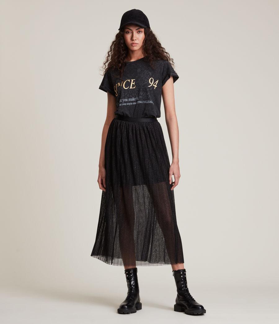 Womens Dina Skirt (black) - Image 1