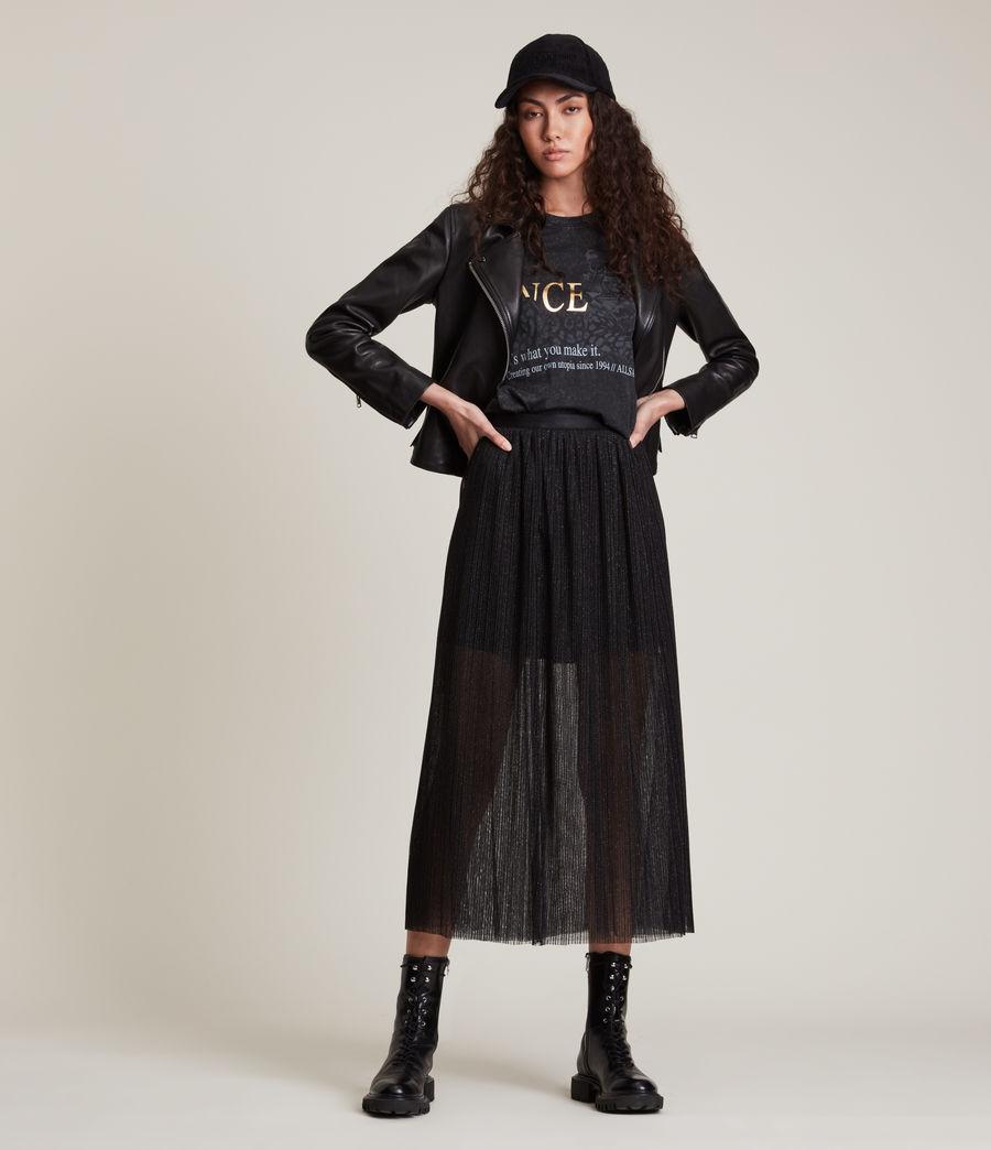 Womens Dina Skirt (black) - Image 2