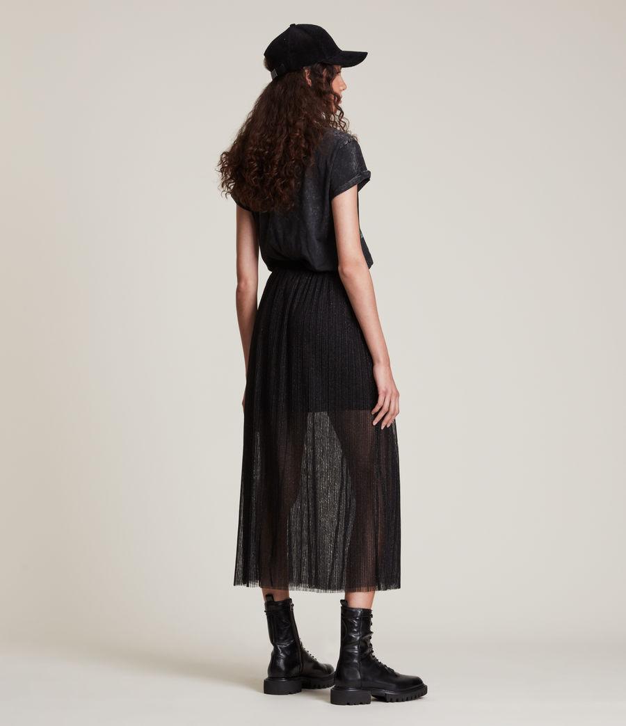 Womens Dina Skirt (black) - Image 4