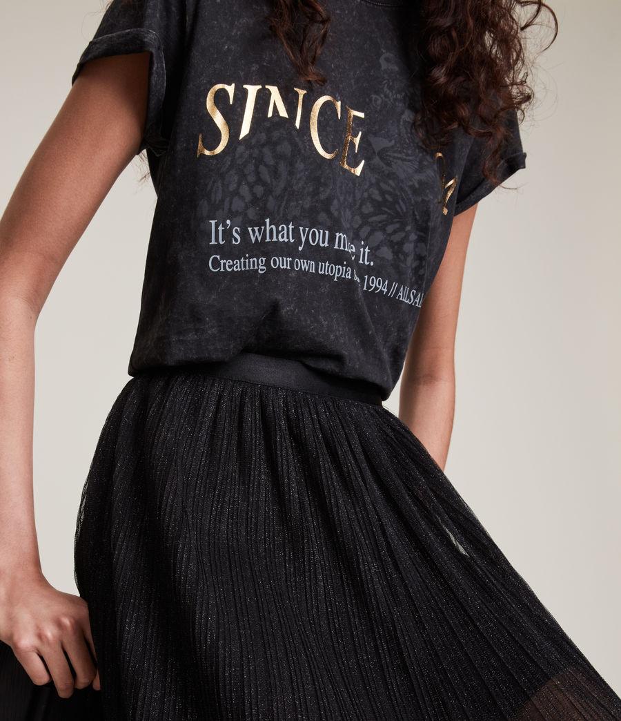 Womens Dina Skirt (black) - Image 5