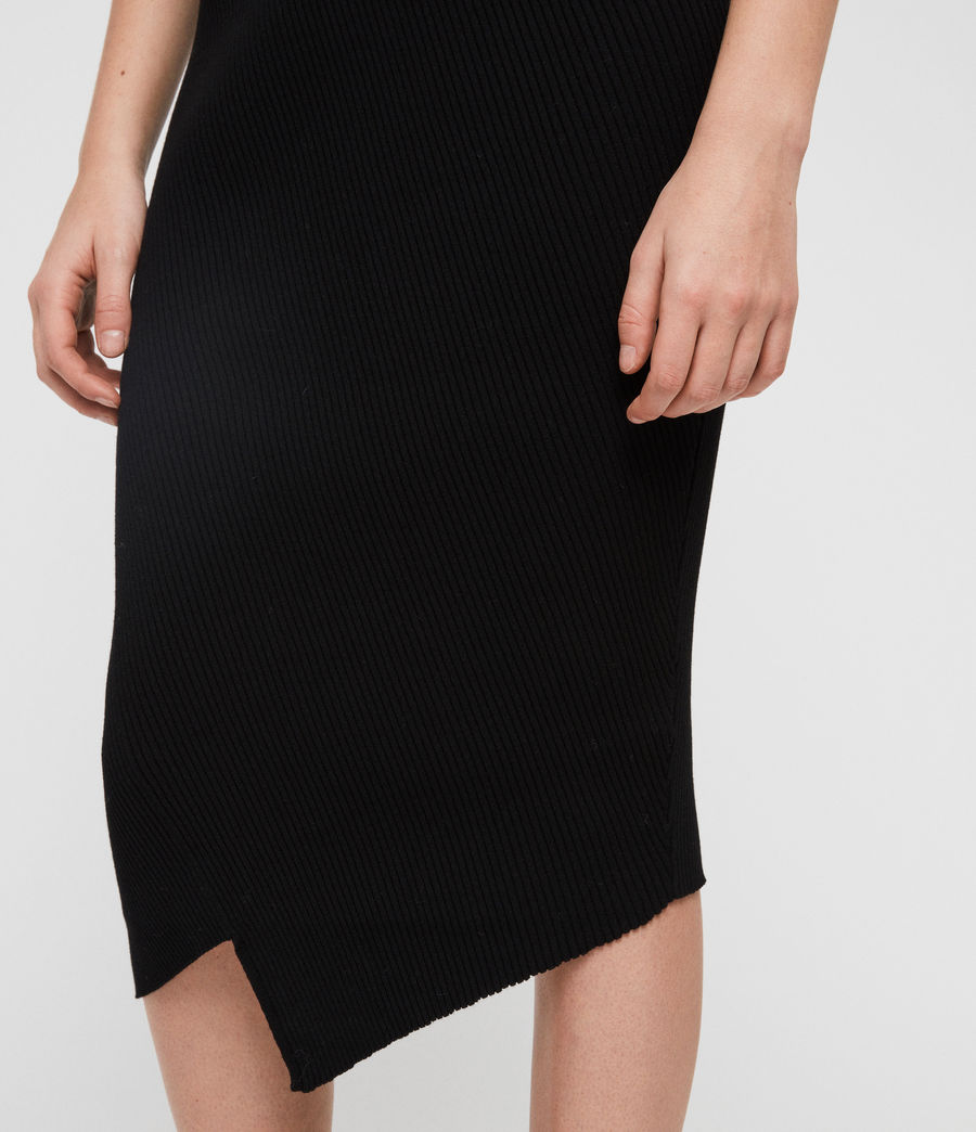 Women's Amara Skirt (black) - Image 3