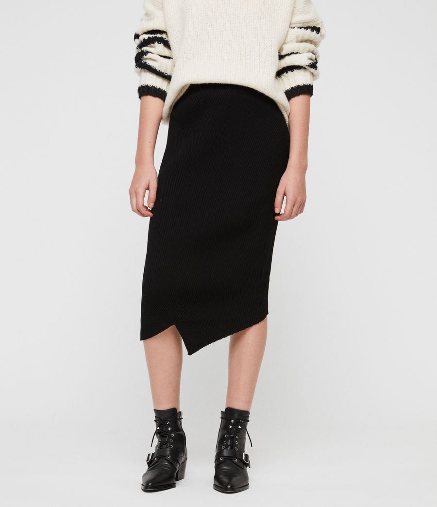 Women's Amara Skirt (black) - Image 4