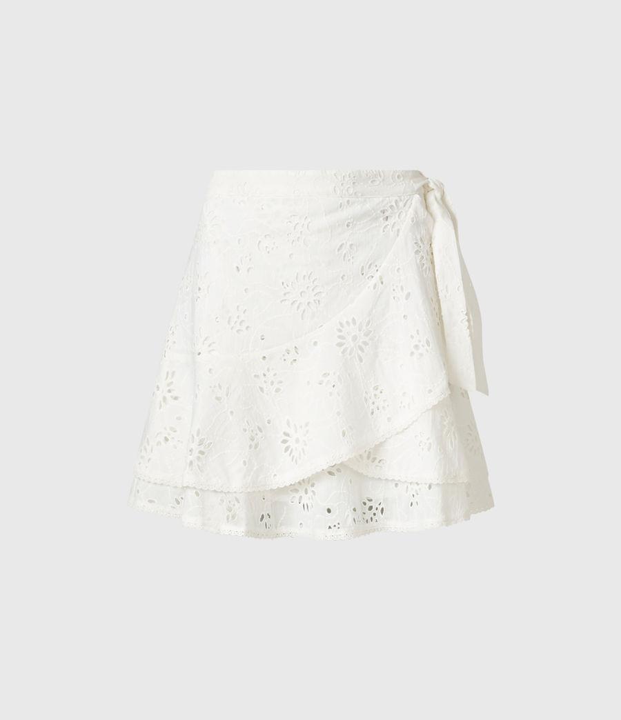 Womens Kasa Broderie Skirt (chalk_white) - Image 2