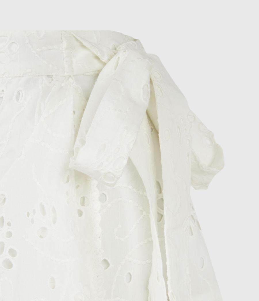 Womens Kasa Broderie Skirt (chalk_white) - Image 5