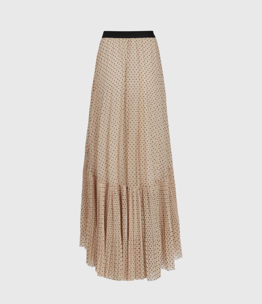 Womens Aubrey Dot Skirt (nude_pink) - Image 3