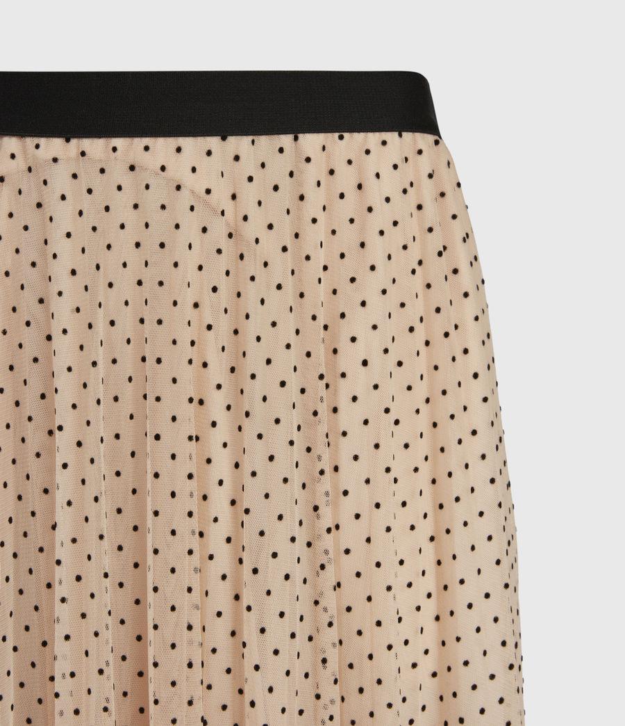 Womens Aubrey Dot Skirt (nude_pink) - Image 5