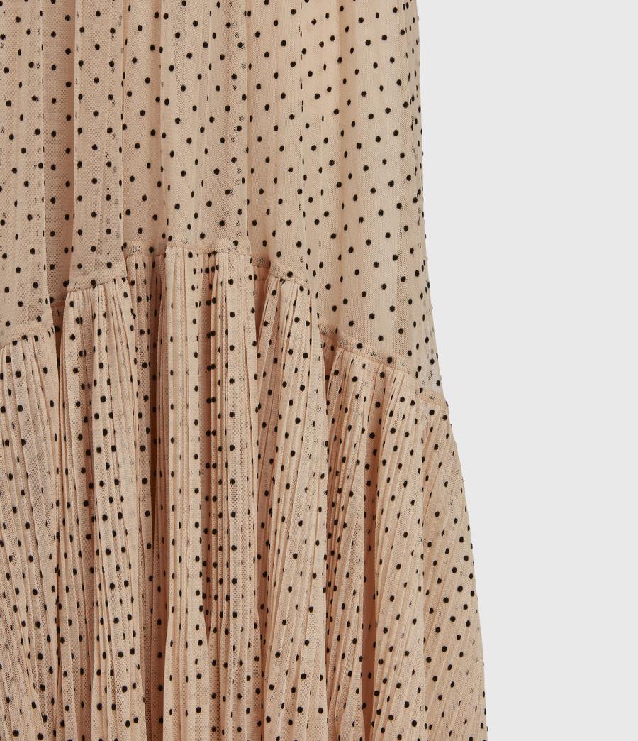 Womens Aubrey Dot Skirt (nude_pink) - Image 6