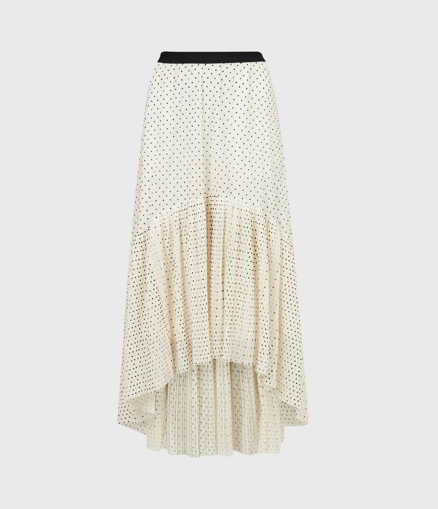 Women's Aubrey Dot Skirt (ecru_white) - Image 2