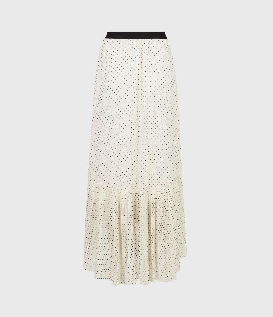 Women's Aubrey Dot Skirt (ecru_white) - Image 3
