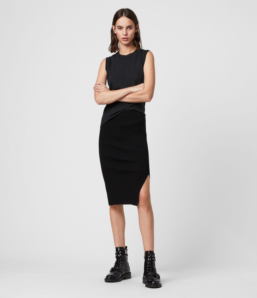 Women's Lavine Skirt (black) - Image 1