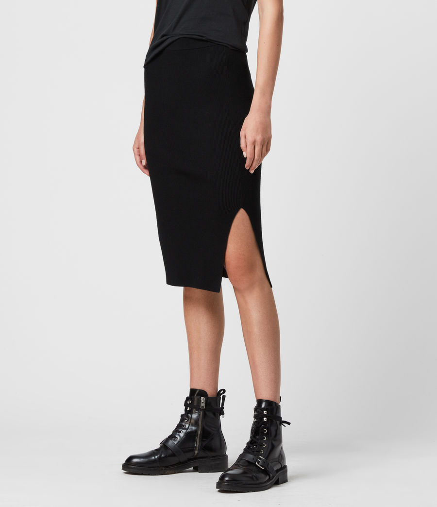 Women's Lavine Skirt (black) - Image 2