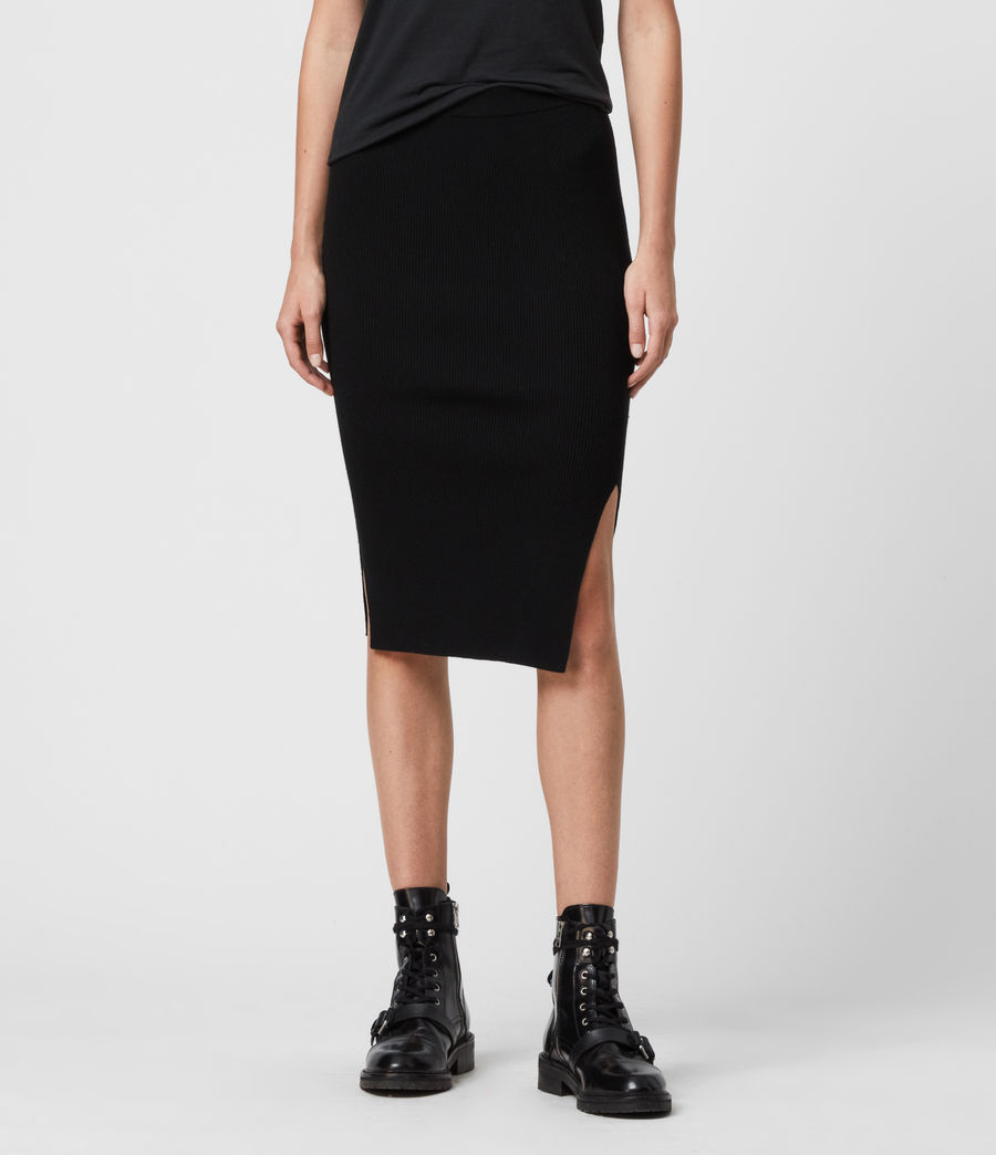 Women's Lavine Skirt (black) - Image 3