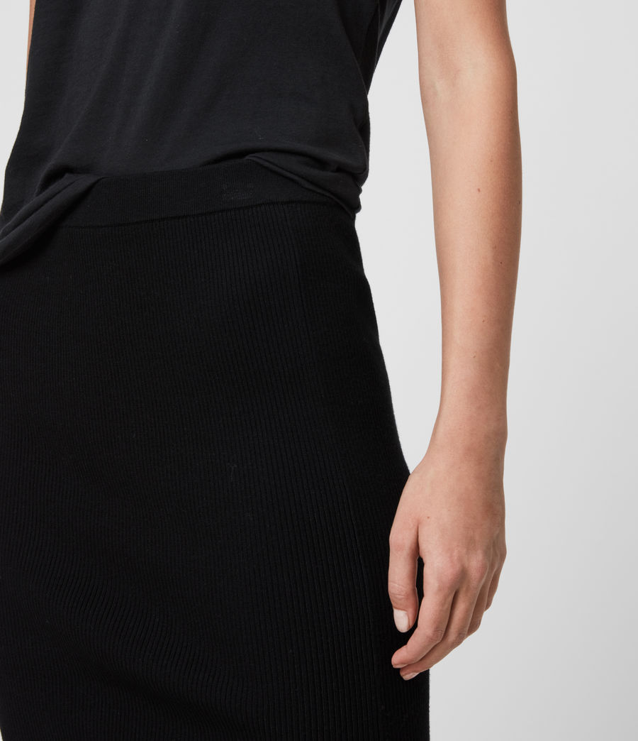 Women's Lavine Skirt (black) - Image 4