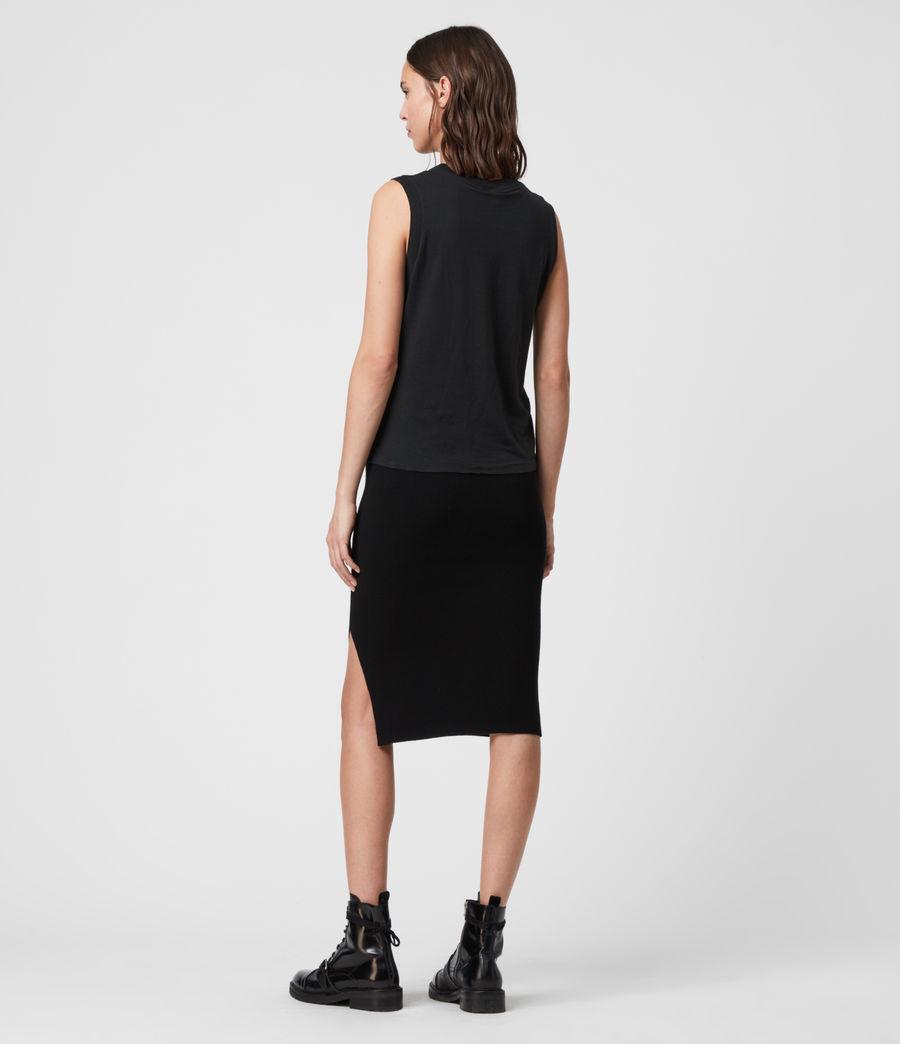 Women's Lavine Skirt (black) - Image 4