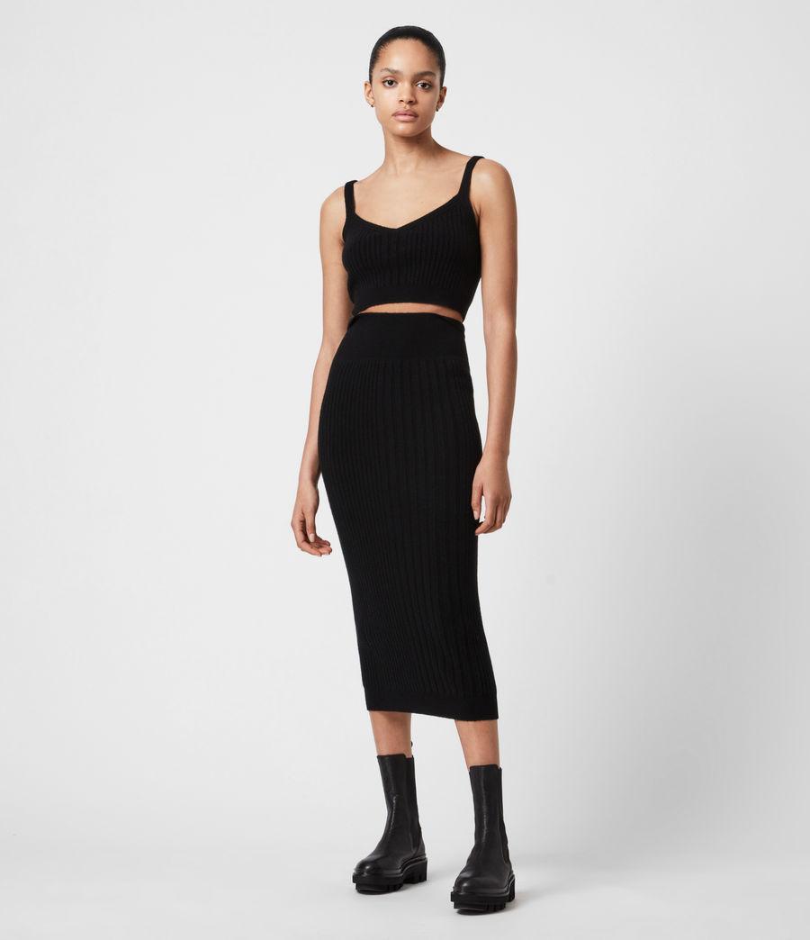 Womens Enya Skirt (black) - Image 1