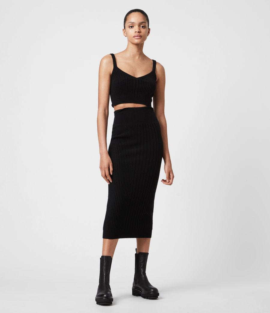 Womens Enya Skirt (black) - Image 4