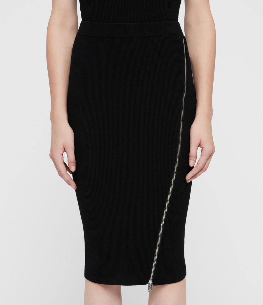 Women's Anouk Skirt (black) - Image 2
