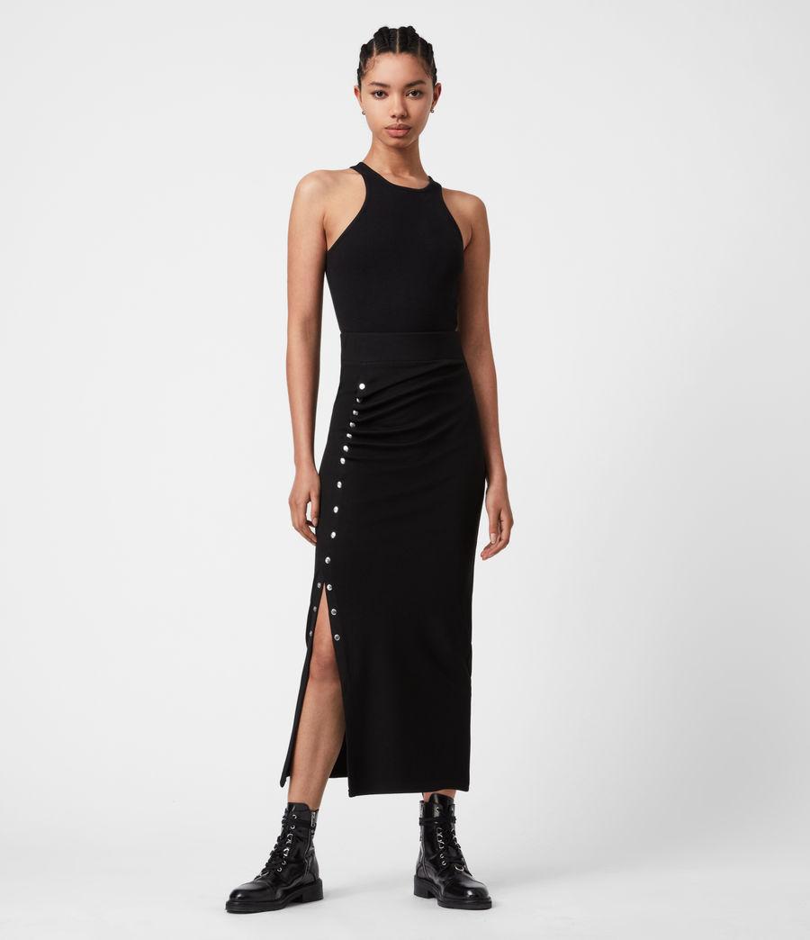 Women's Hatti Skirt (black) - Image 4