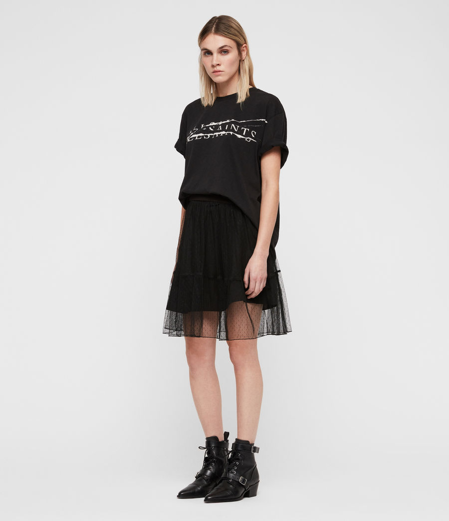 Womens Lali Skirt (black) - Image 3