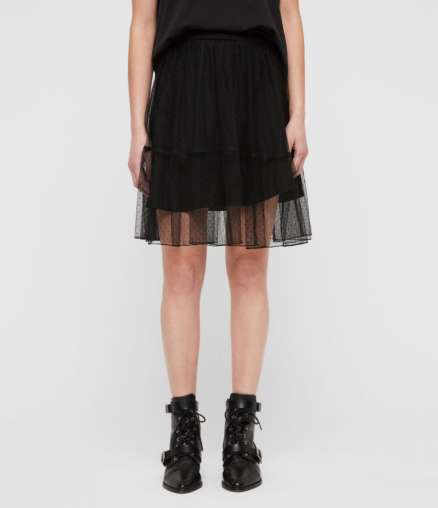 Womens Lali Skirt (black) - Image 4