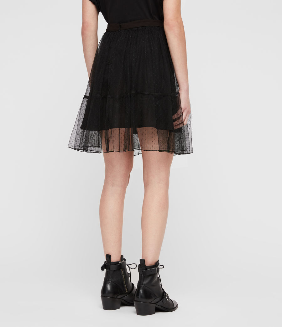 Womens Lali Skirt (black) - Image 5