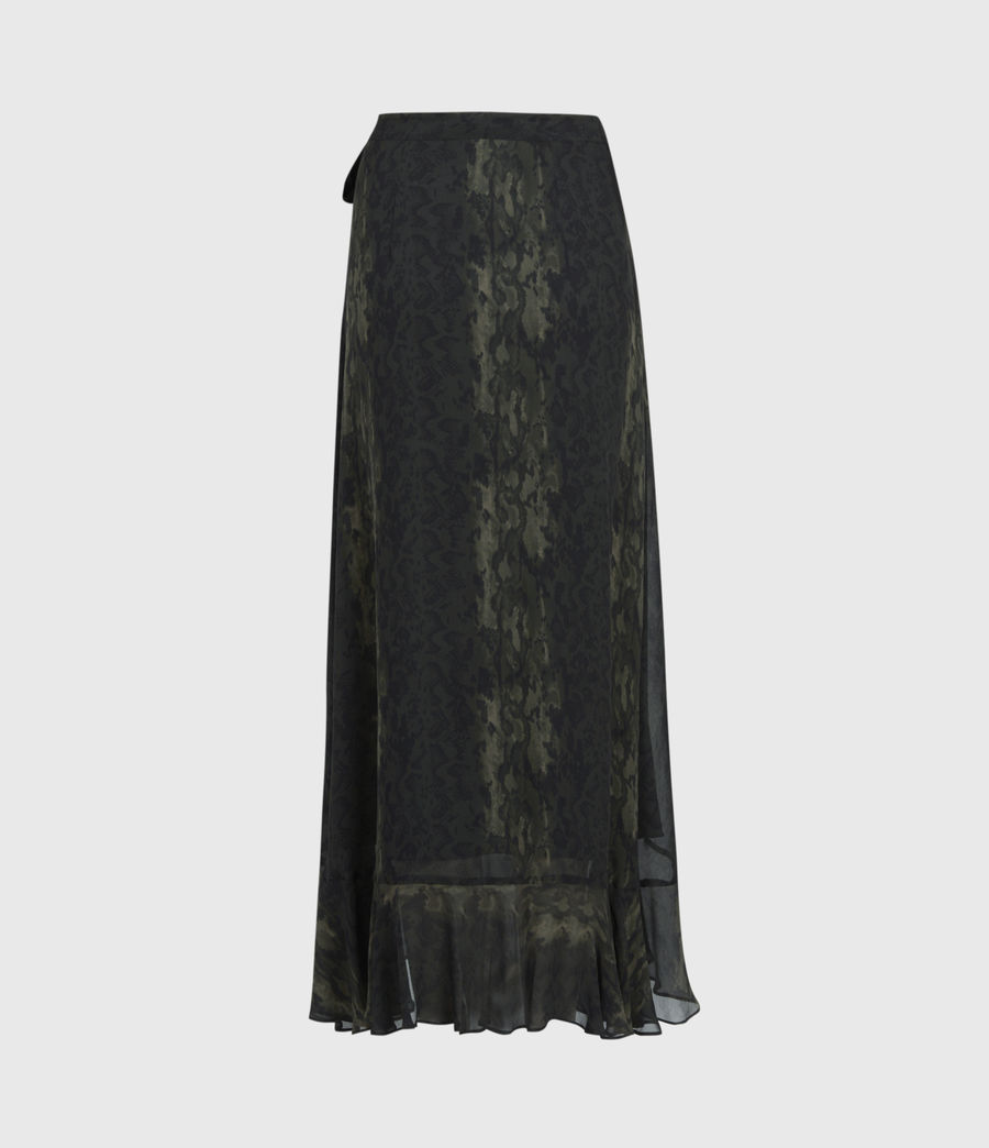 Women's Cosmo Masala Skirt (forest_green) - Image 2