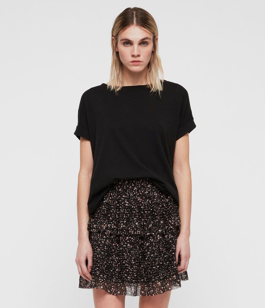 Womens Sanse Pepper Skirt (black) - Image 1
