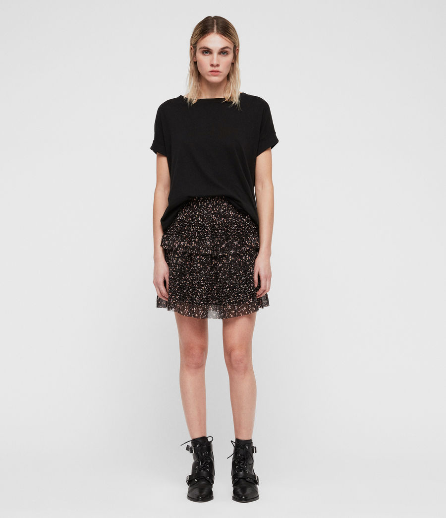 Womens Sanse Pepper Skirt (black) - Image 3
