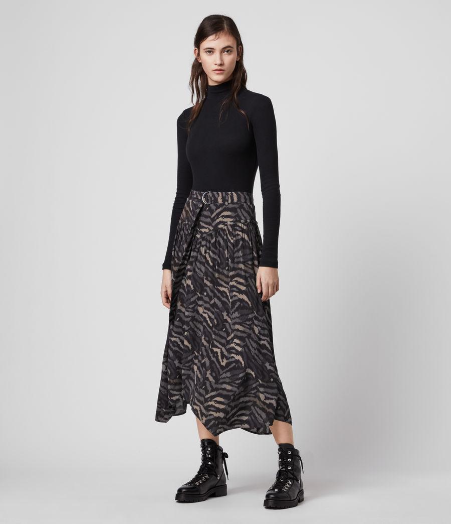 Women's Aisla Remix Skirt (grey) - Image 1