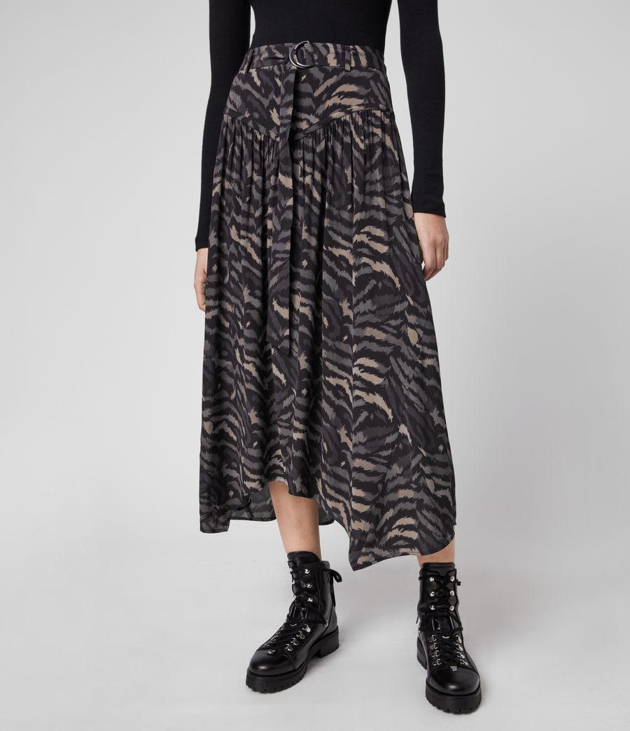 Women's Aisla Remix Skirt (grey) - Image 2