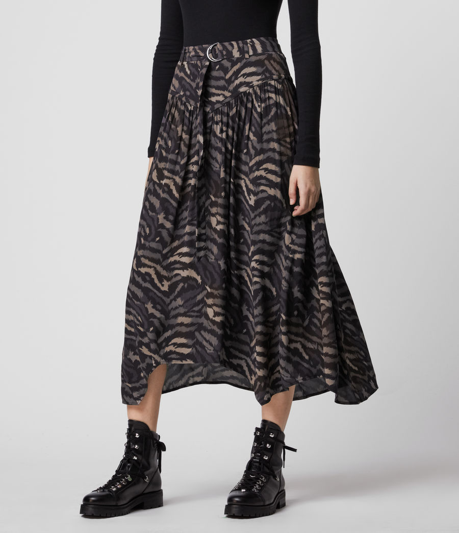 Women's Aisla Remix Skirt (grey) - Image 3