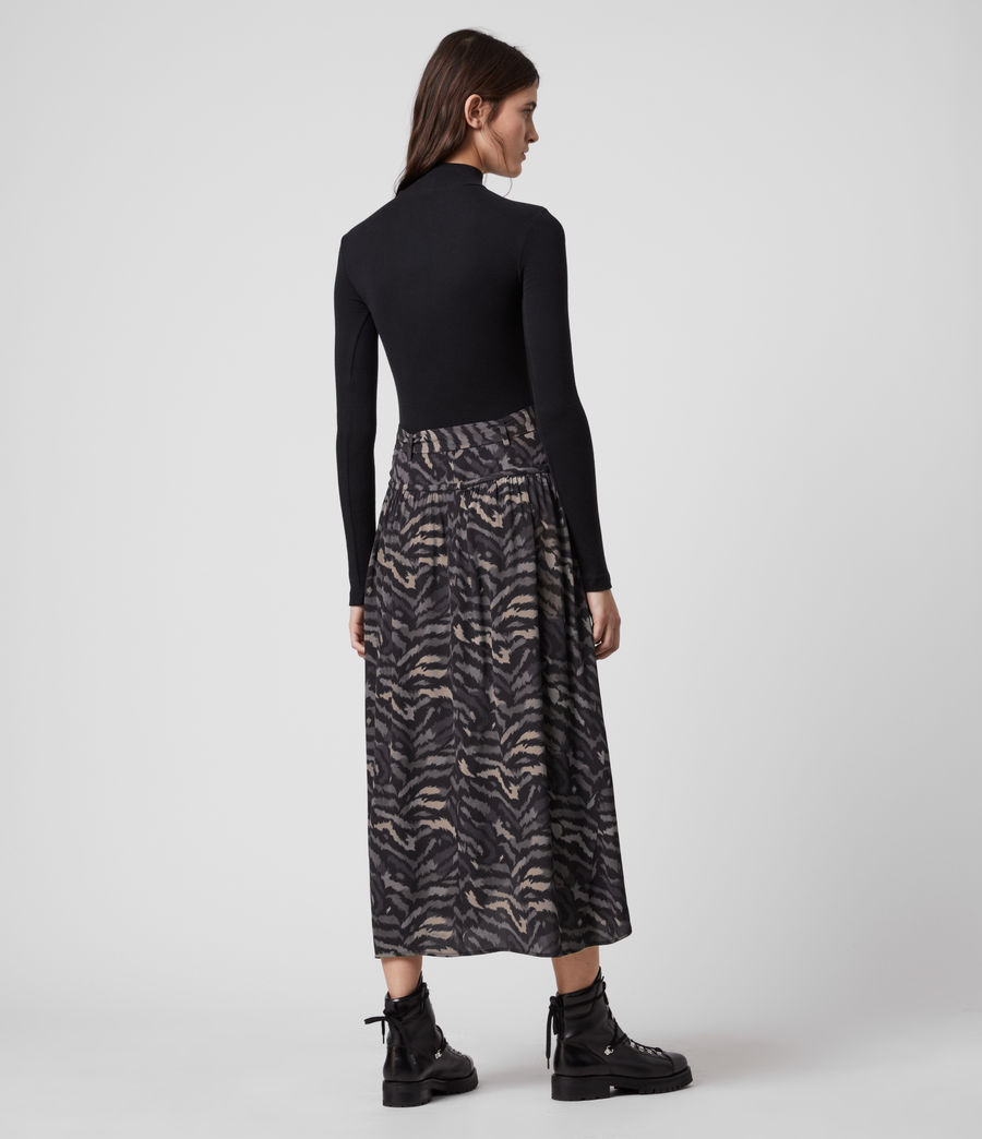 Women's Aisla Remix Skirt (grey) - Image 4