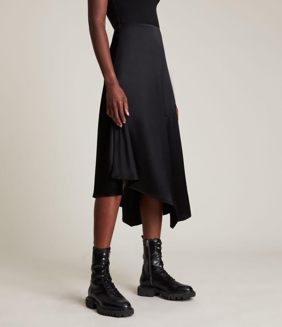 Womens Ani Skirt (black) - Image 2