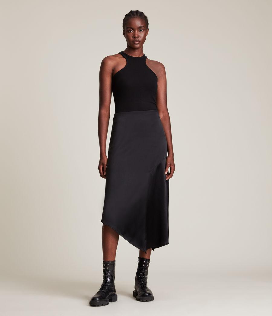 Womens Ani Skirt (black) - Image 4