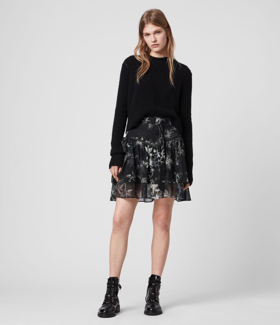 Womens Aislyn Evolution Skirt (black) - Image 1