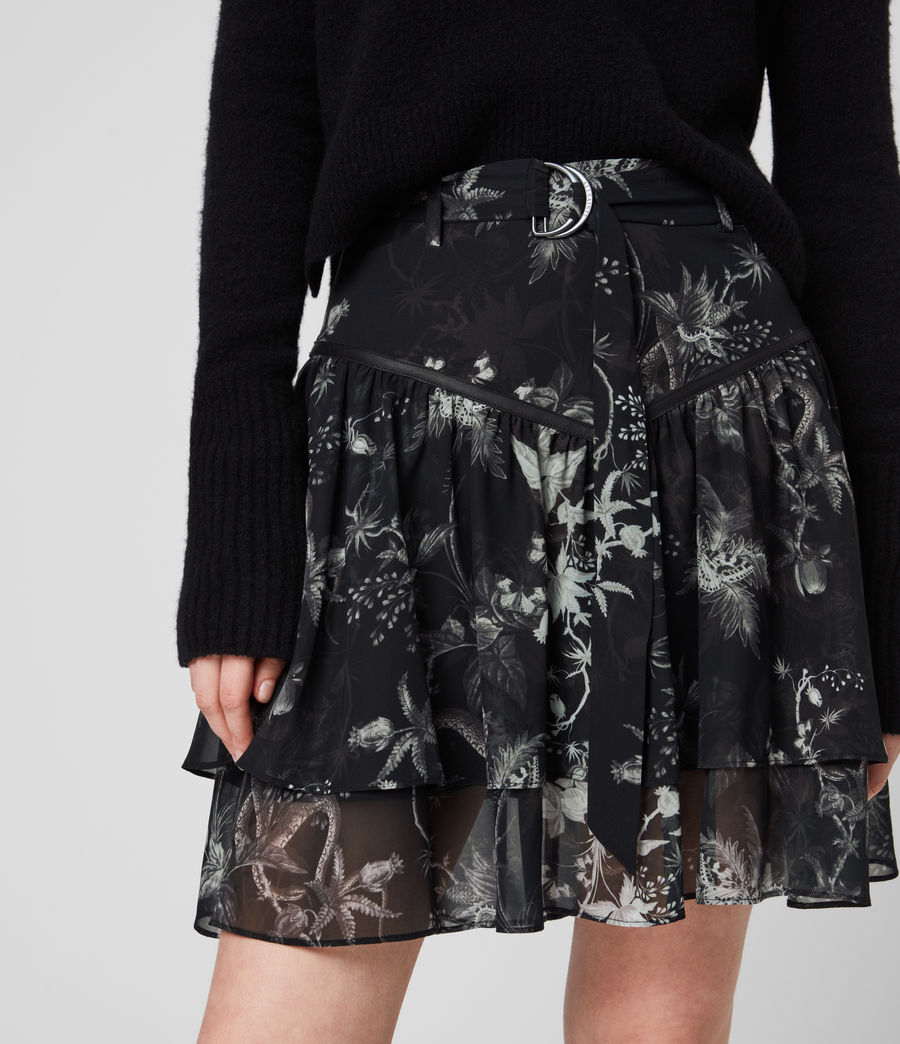 Womens Aislyn Evolution Skirt (black) - Image 2