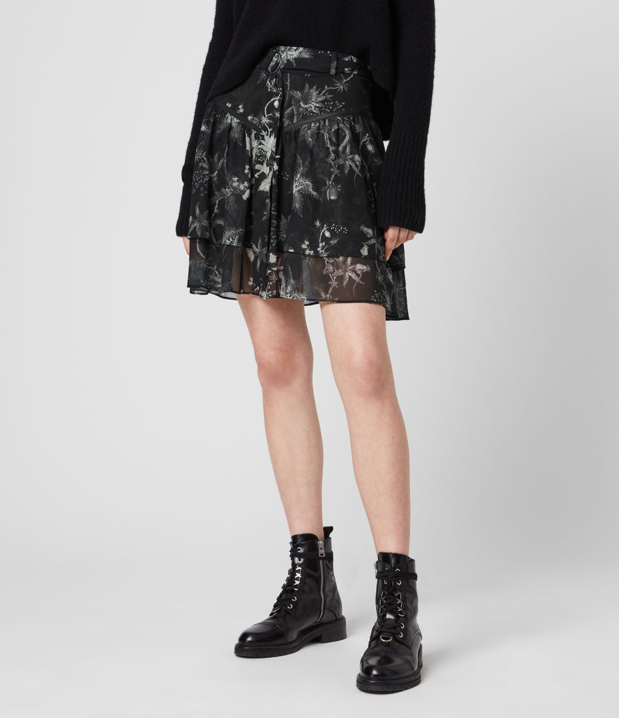 Womens Aislyn Evolution Skirt (black) - Image 3