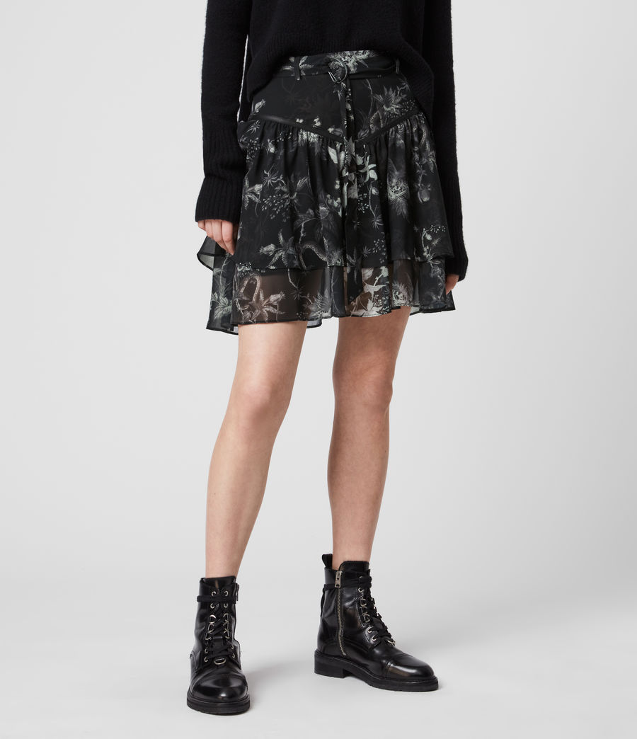 Womens Aislyn Evolution Skirt (black) - Image 4