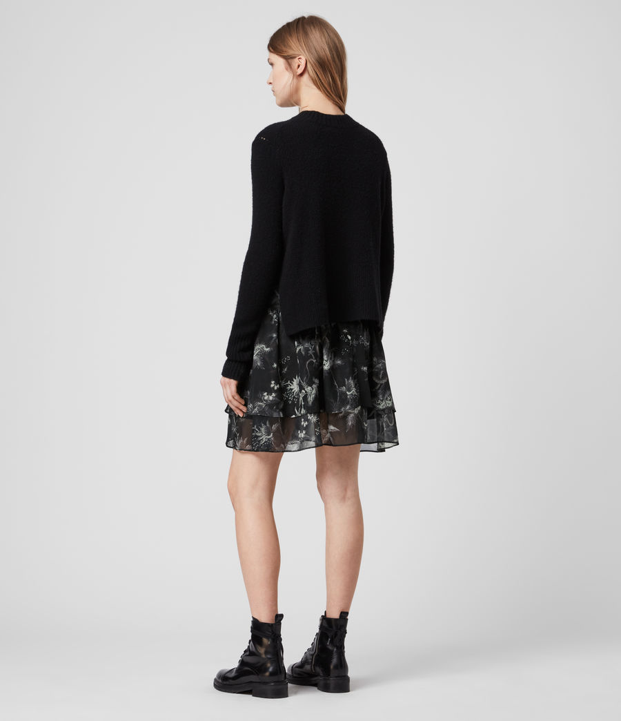Womens Aislyn Evolution Skirt (black) - Image 5