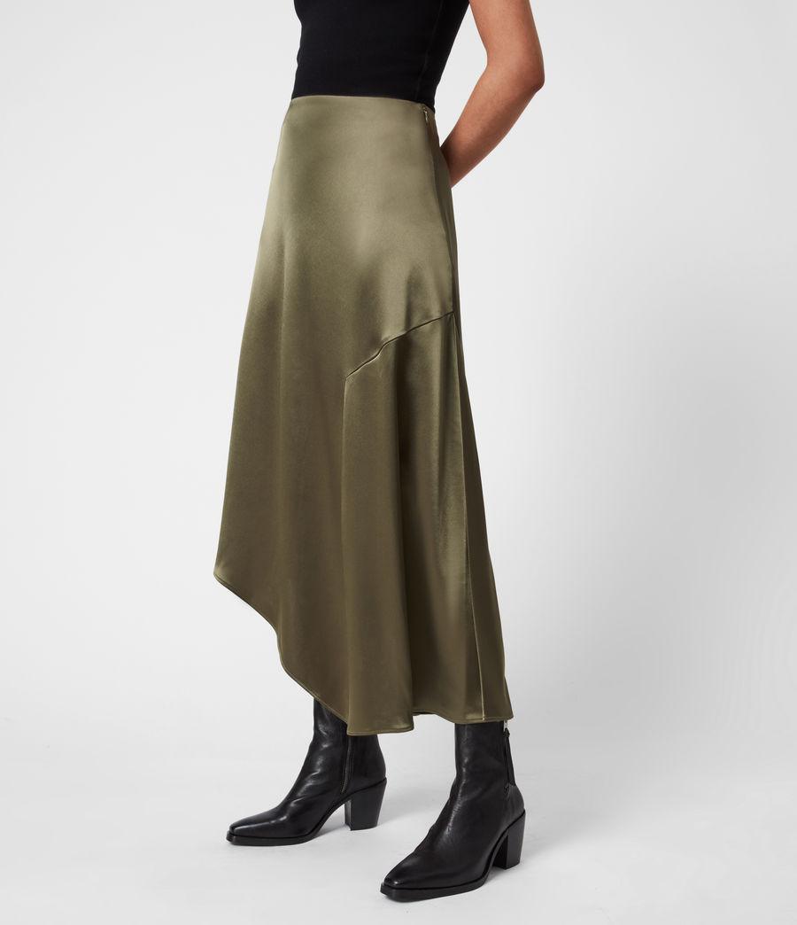 Womens Ani Skirt (olive_green) - Image 1