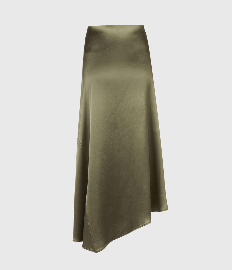 Womens Ani Skirt (olive_green) - Image 3