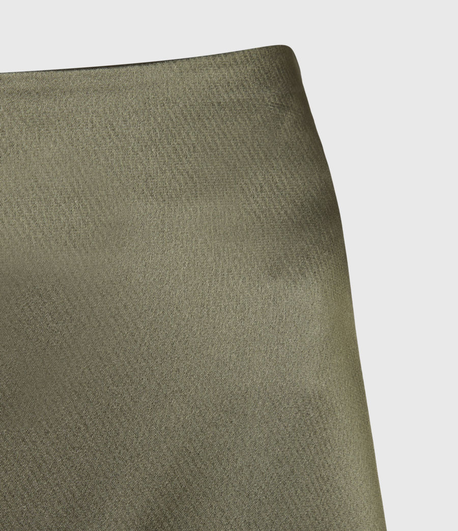 Womens Ani Skirt (olive_green) - Image 5