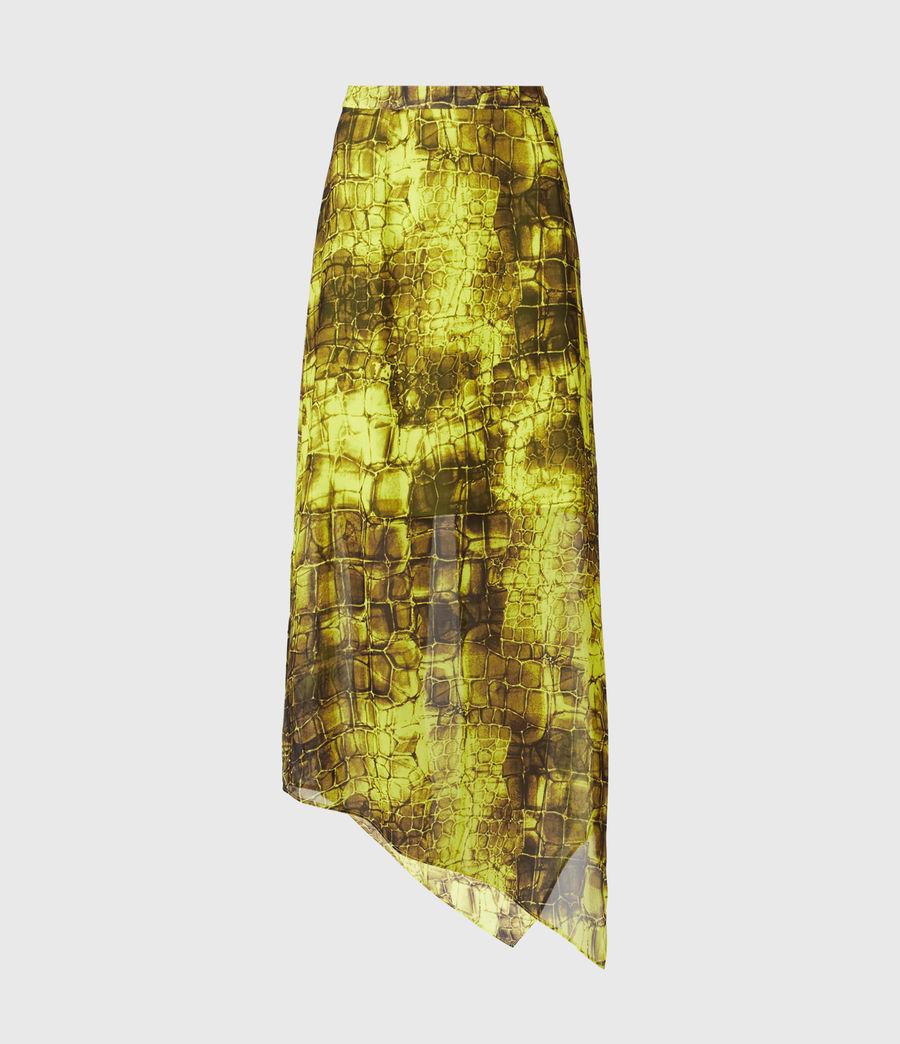 Femmes Rhea Mirus Skirt (lime_green) - Image 2