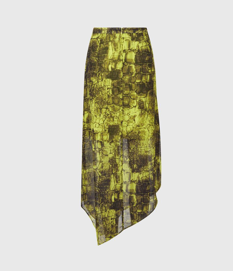 Femmes Rhea Mirus Skirt (lime_green) - Image 3
