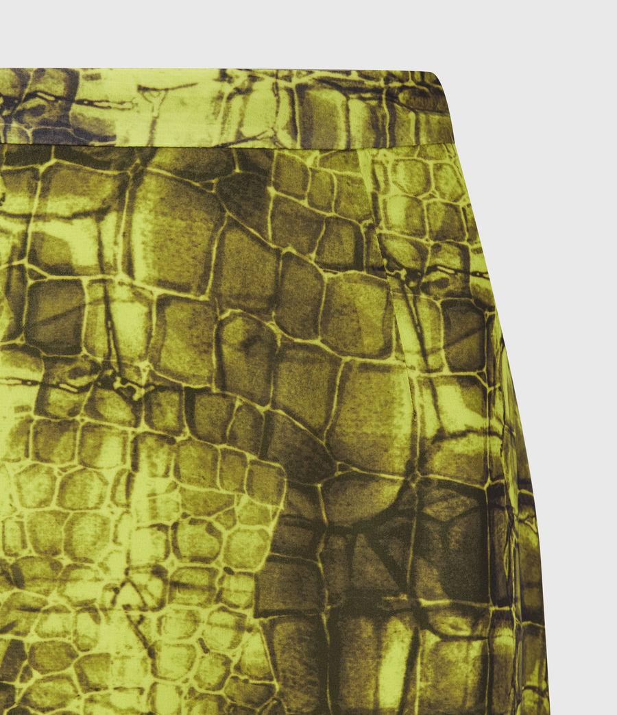 Femmes Rhea Mirus Skirt (lime_green) - Image 5
