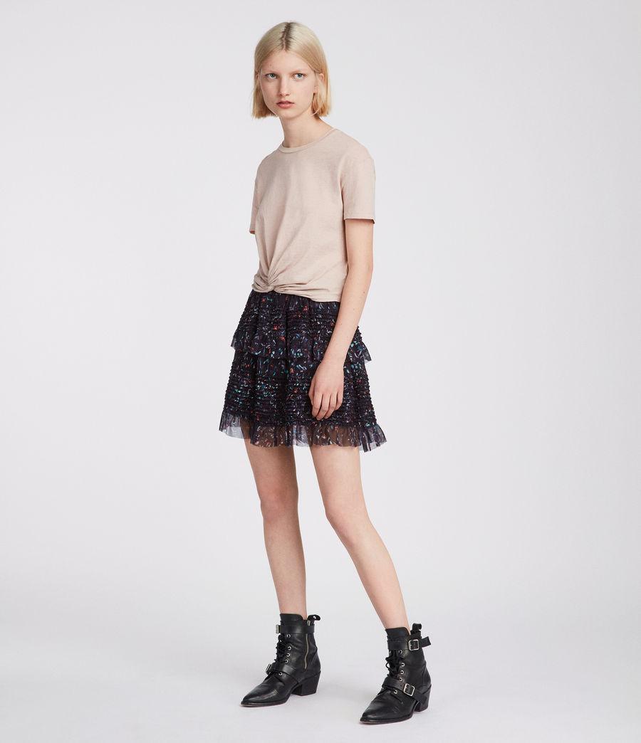 Womens Sanse Juni Skirt (black) - Image 1