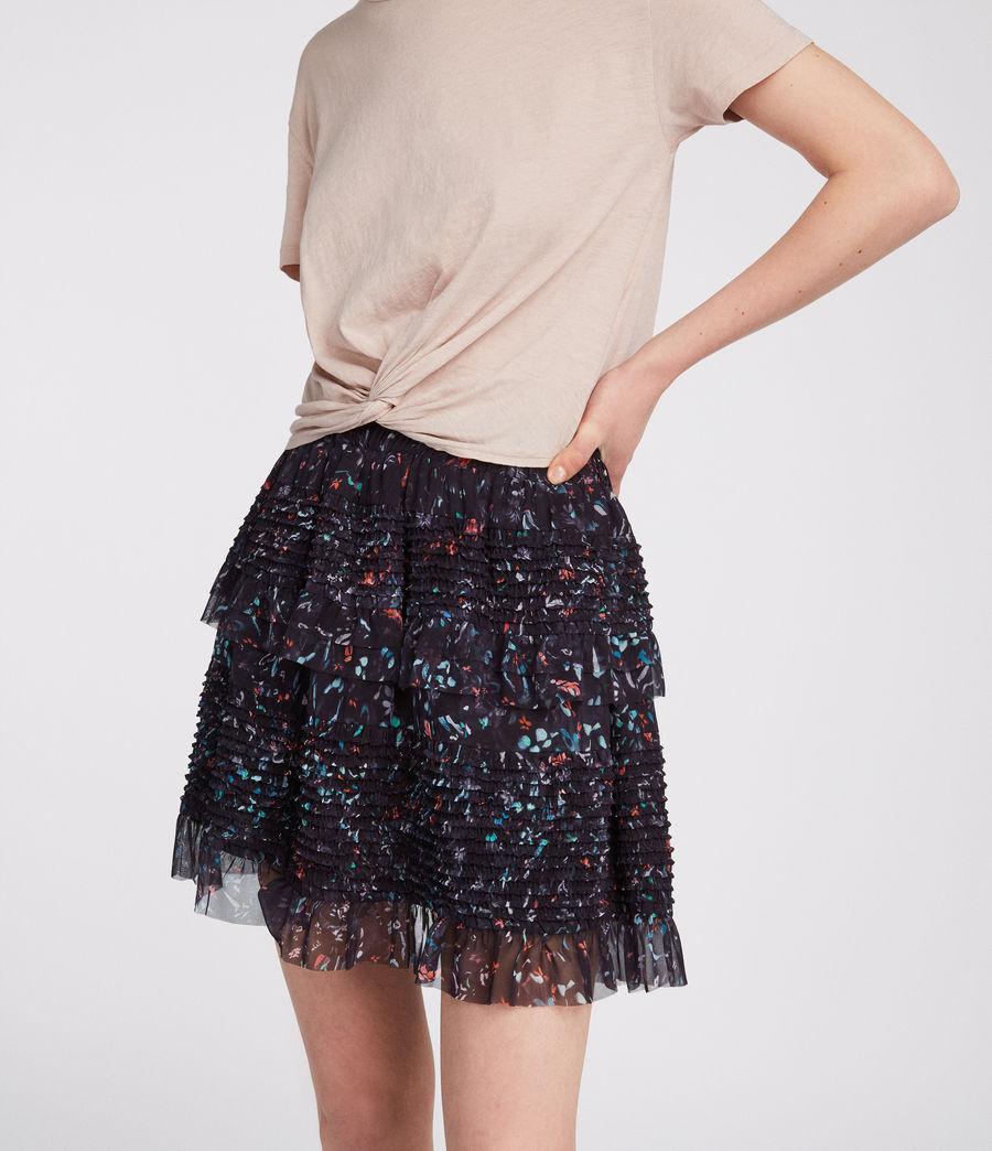 Womens Sanse Juni Skirt (black) - Image 3