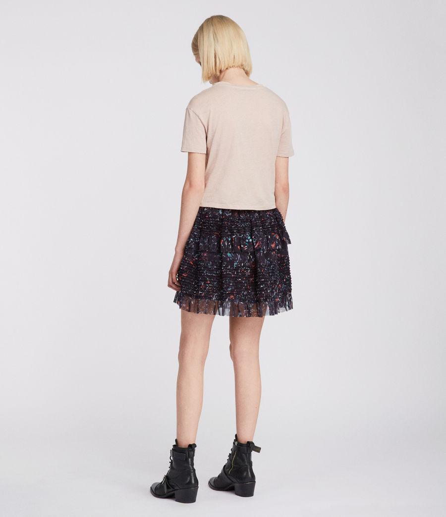 Womens Sanse Juni Skirt (black) - Image 4