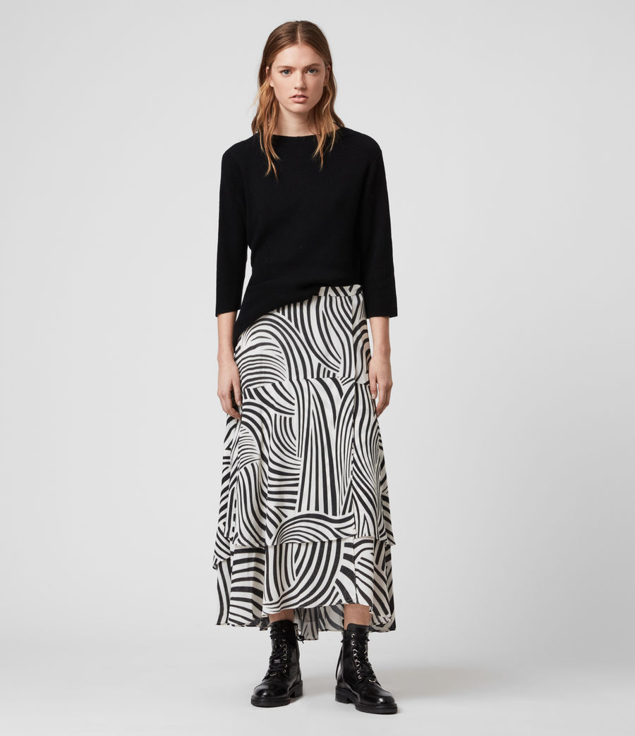 Womens Elie Seebra Skirt (chalk_white) - Image 1