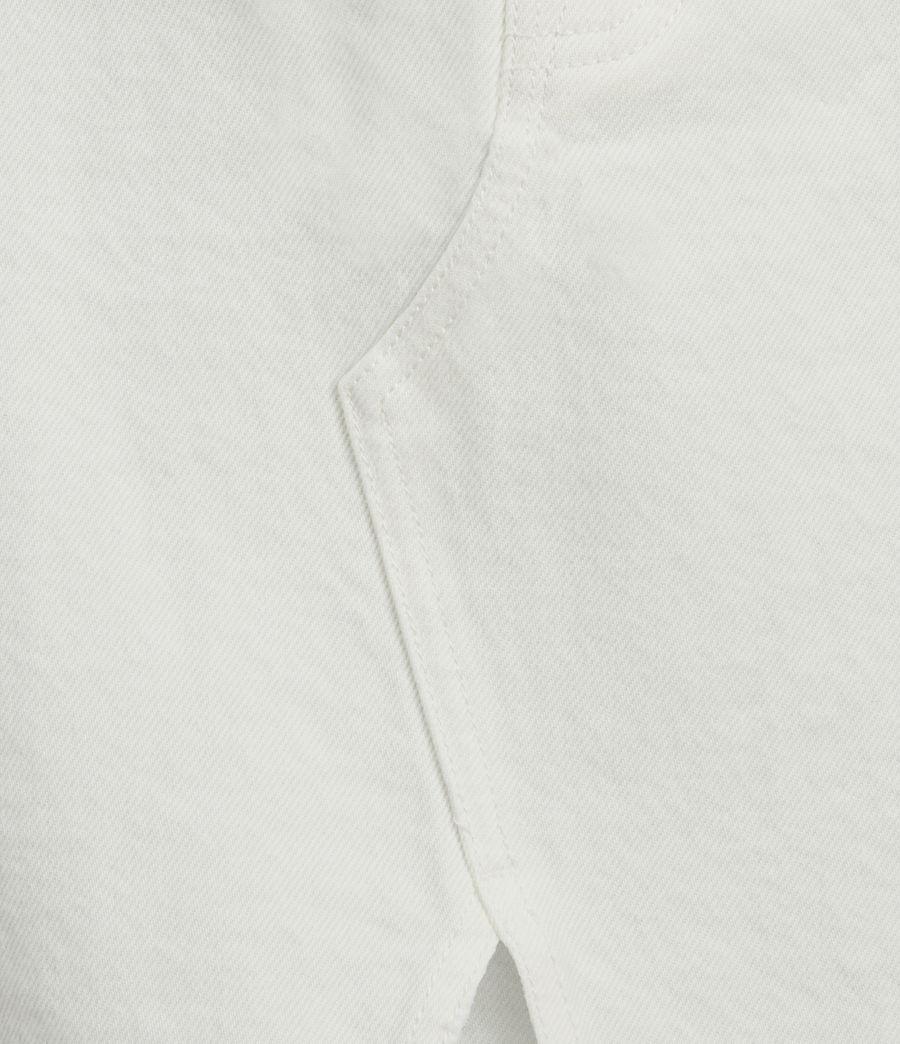 Women's Dottie Denim Maxi Skirt (white) - Image 2